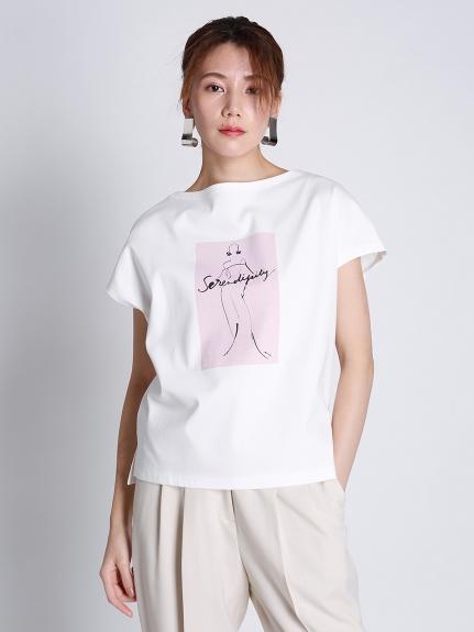 コラボプリントワイドTシャツ