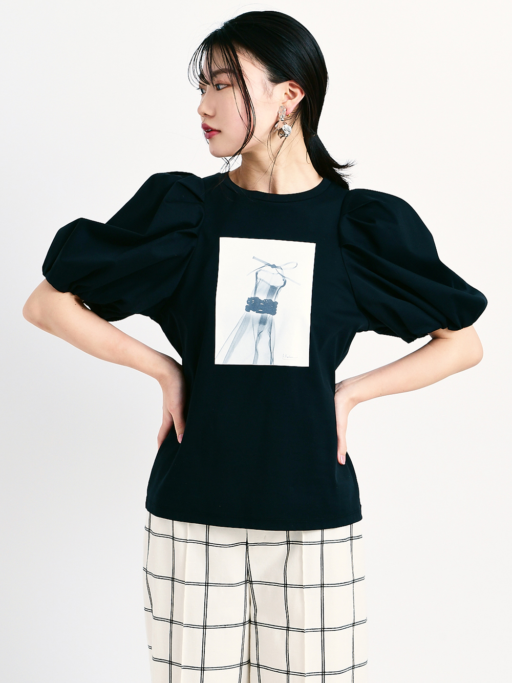 Albert Koetsierボリューム袖Tシャツ(A-F)