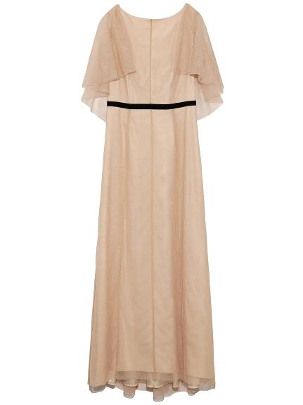 バックシャンレースロングドレス(PBEG-36)