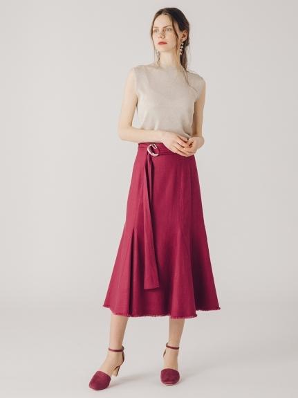 リネンマーメイドスカート