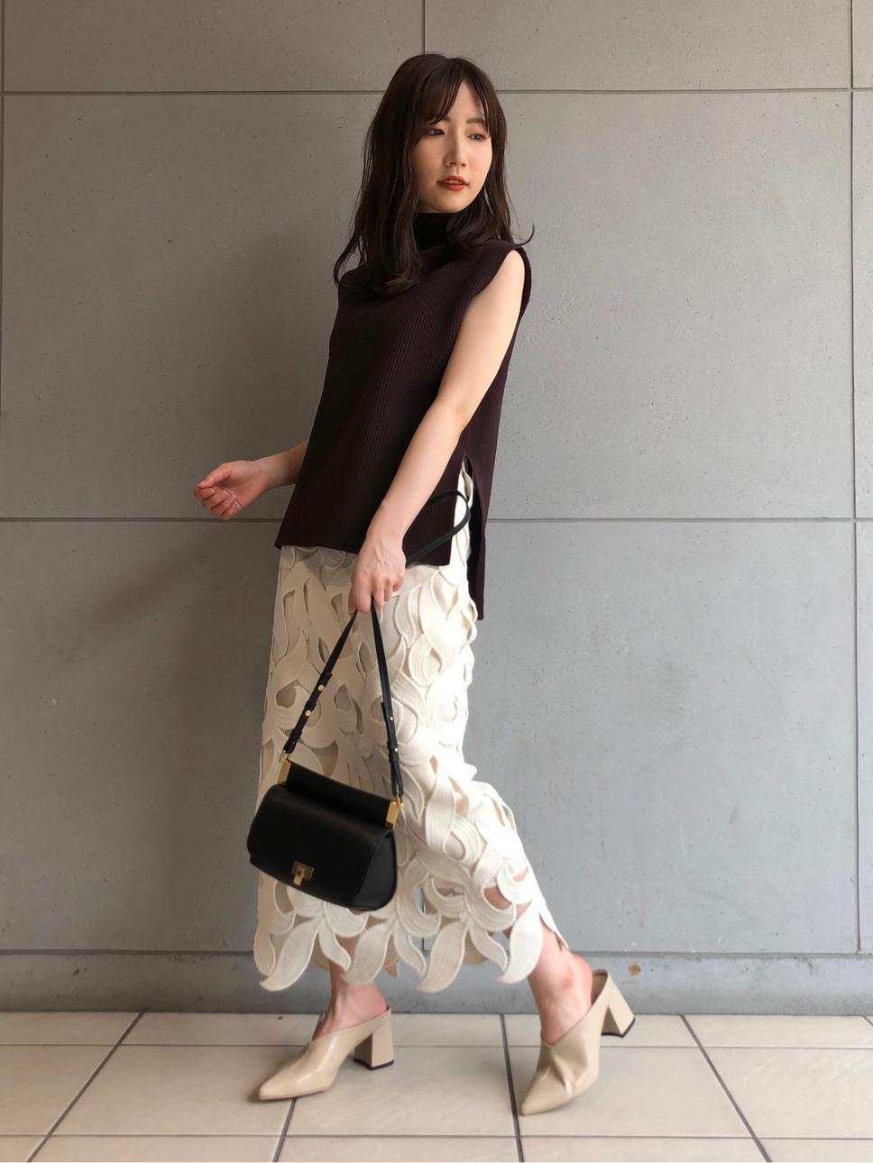 リーフレーススカート(OWHT-34)