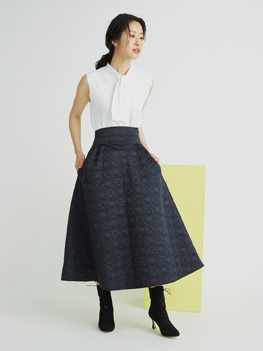 オリジナルキルティングスカート(BLK-36)