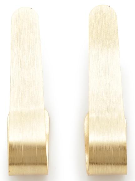 スリムプレートイヤリング