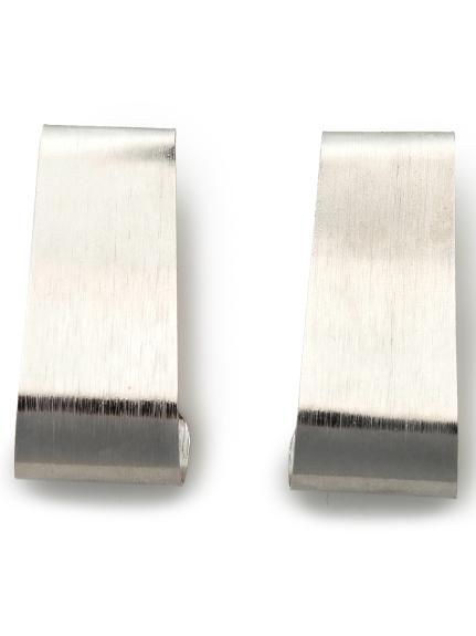 ワイドプレートイヤリング(SLV-F)
