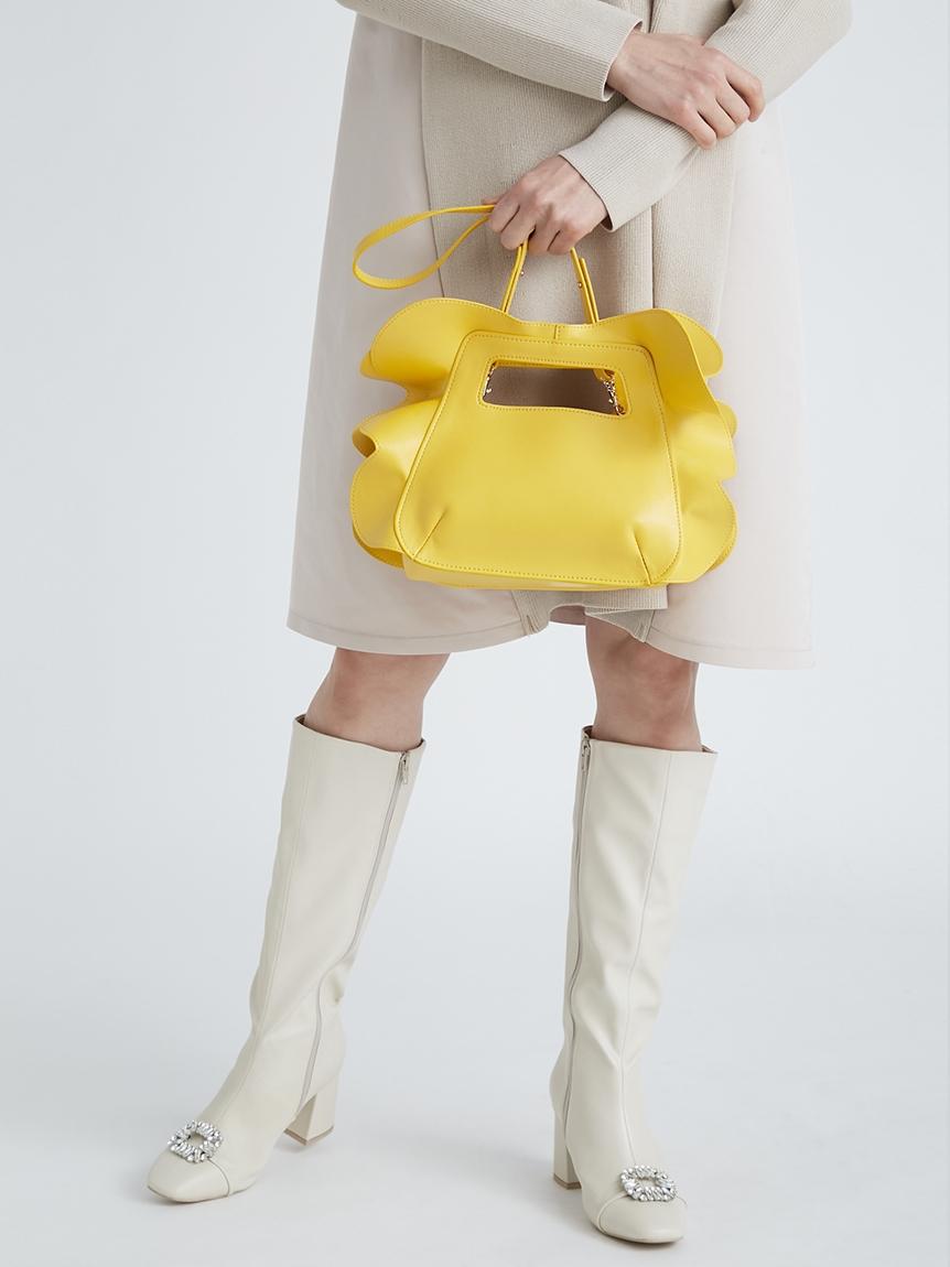 フリルデザインバッグ