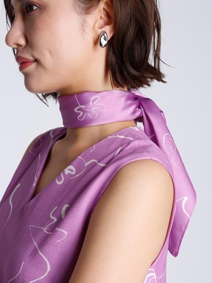 コラボプリントスカーフ