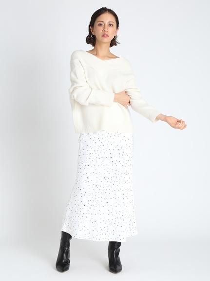 ニットプル×ナロースカートセット