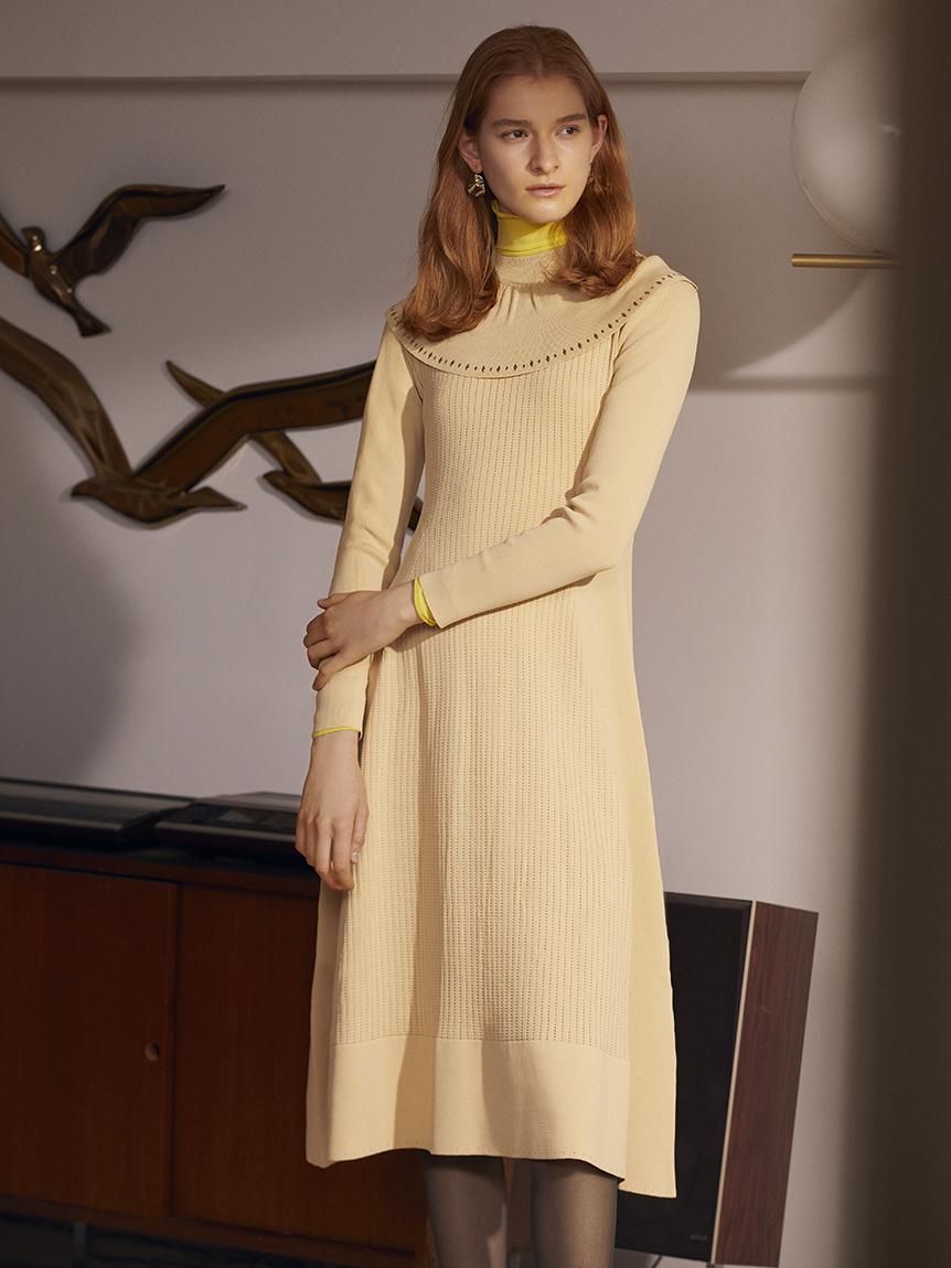 ホットフィットニットドレス