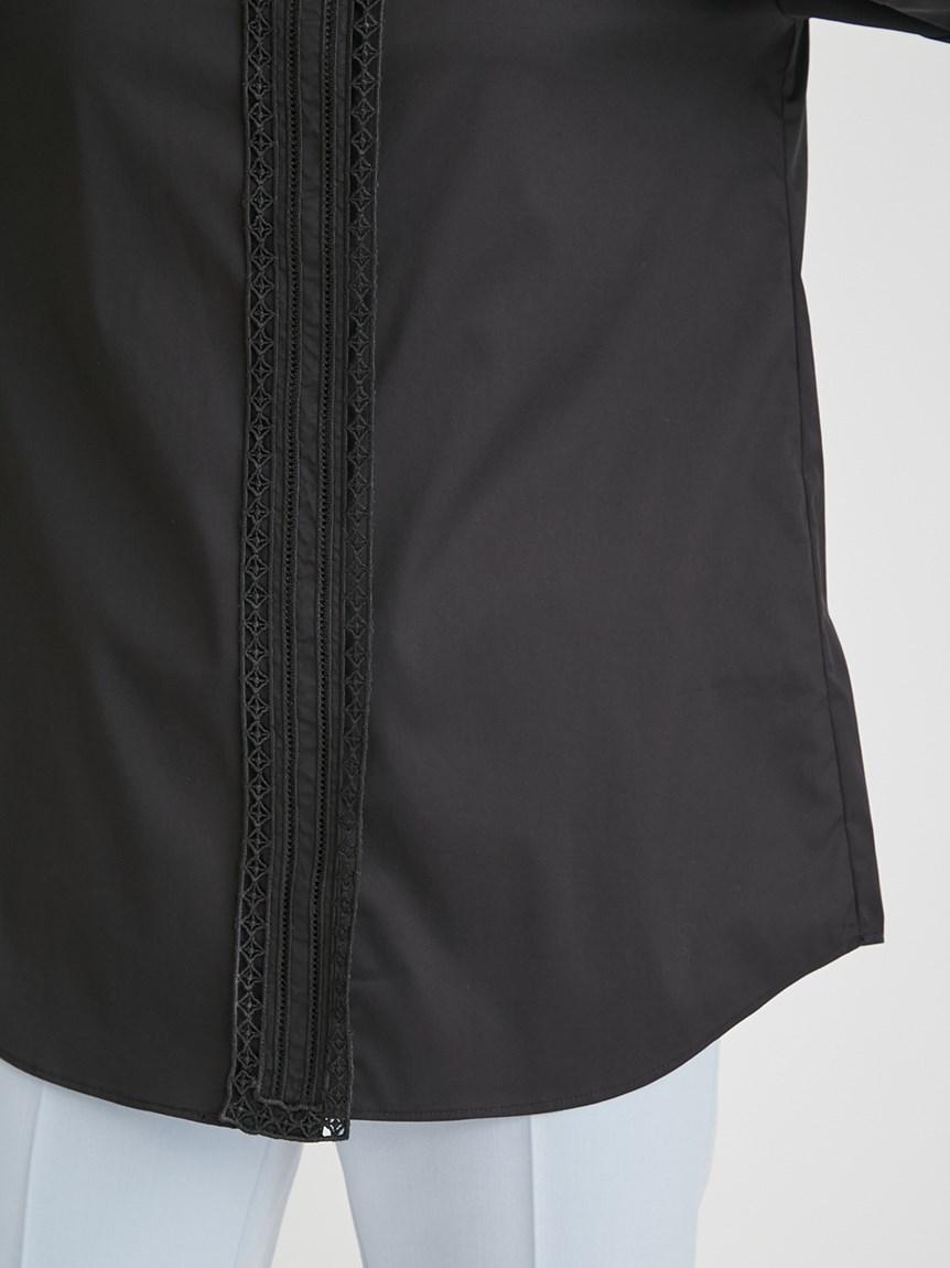 レース刺繍シャツ   CWFB215049