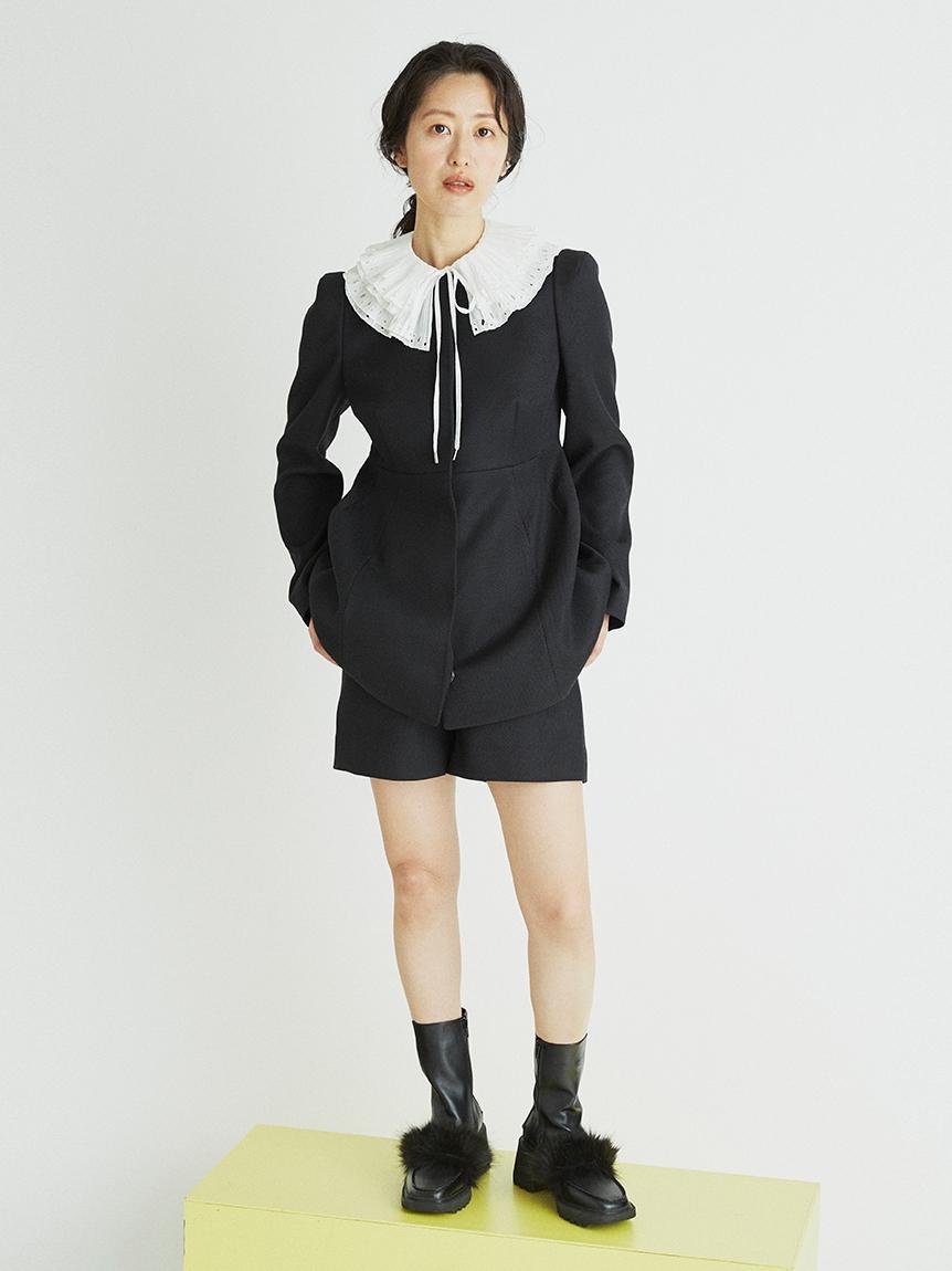 ミドル丈ペプラムジャケット | CWFJ214030