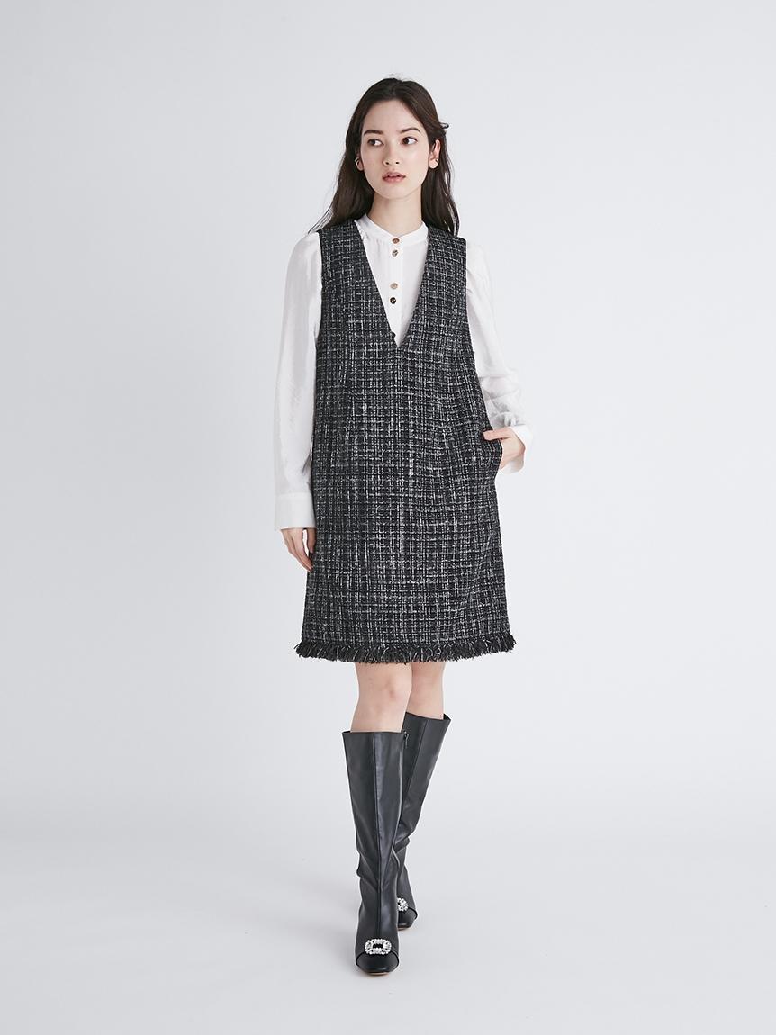 ツイードジャンパースカート | CWFO214065