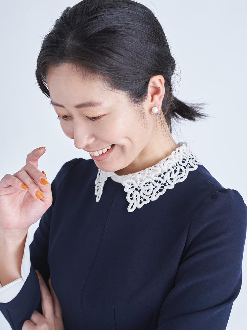 刺繍カラータイトワンピース | CWFO215024
