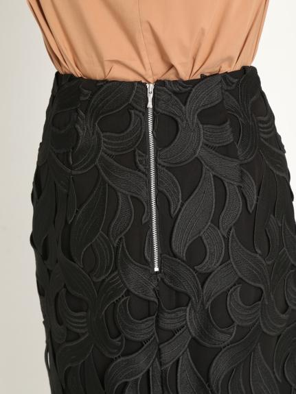 リーフレーススカート | CWFS204018