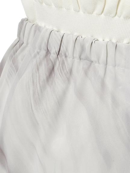 地層柄マーメードスカート | CWFS212068