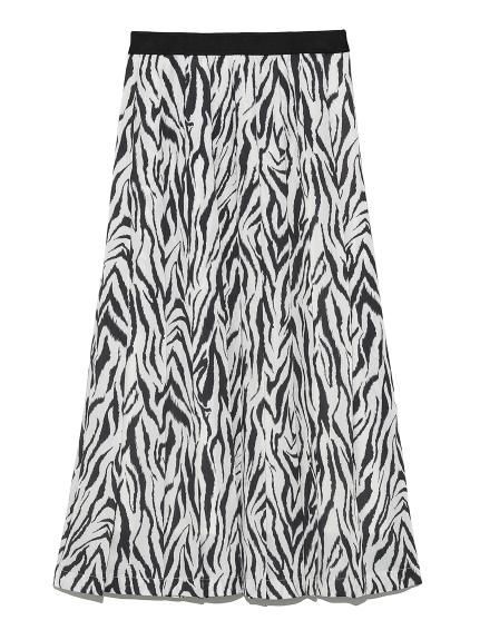 アニマルプリントプリーツスカート | CWFS214002