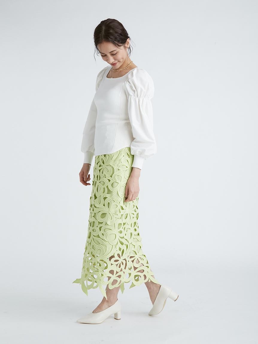 リボンレーススカート | CWFS214050