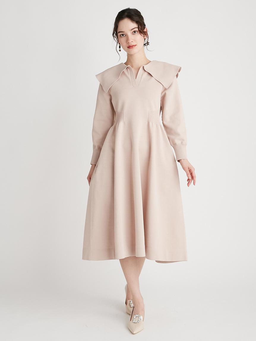 衿付きホールガーメントワンピース | CWNO215036