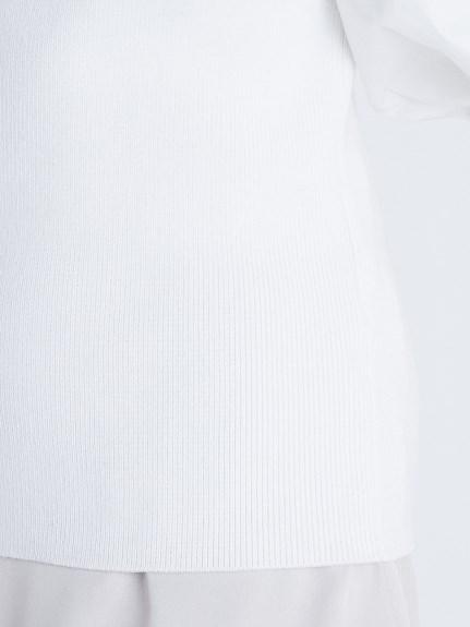異素材ボリュームスリーブニット | CWNT211084
