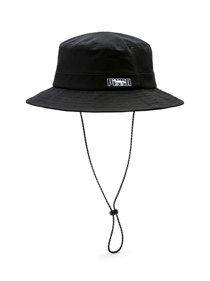【PUMA】PUMA X MAISON KITSUNE BUCKET HAT(BLK-F)