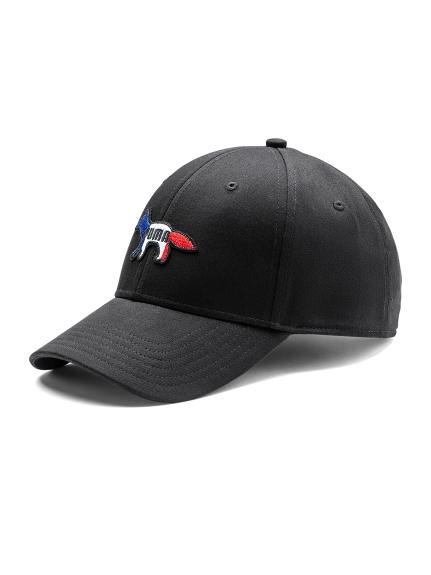 【PUMA】PUMA X MAISON KITSUNE CAP(BLK-F)