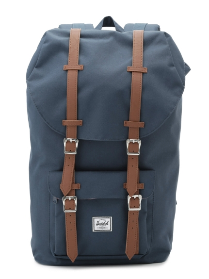【Herschel Supply】HS LITTLE AME NAVY/TAN PU