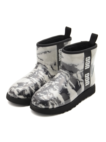 【UGG】Classic Clear Mini Marble(BLK-23.0)