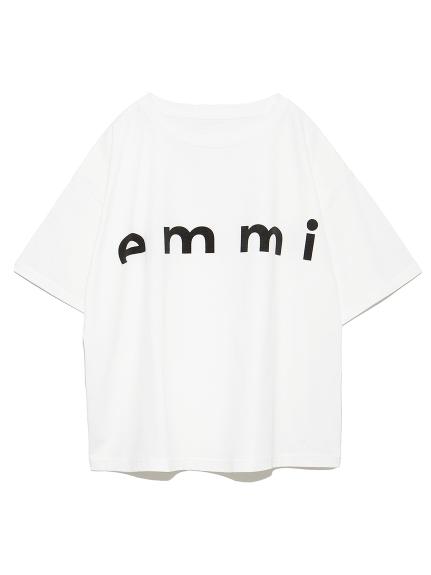 【emmi atelier】emmiロゴTシャツ