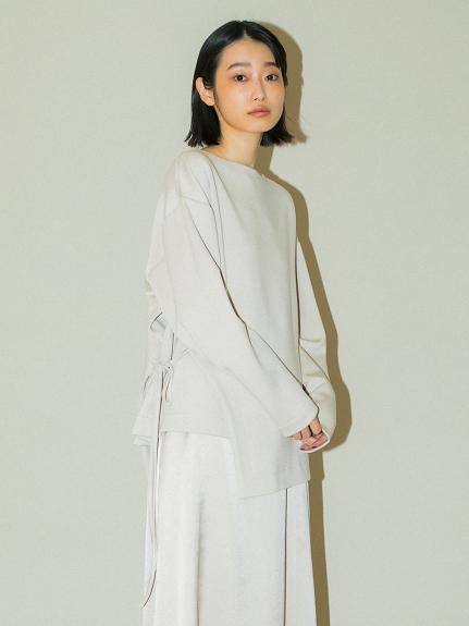 【emmi atelier】レイヤードカットトップス(LGRY-F)