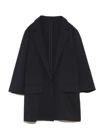 【emmi atelier】リラックス9分袖ジャケット
