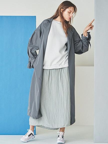 【emmi atelier】プルオーバードッキングワンピース(LGRY-F)