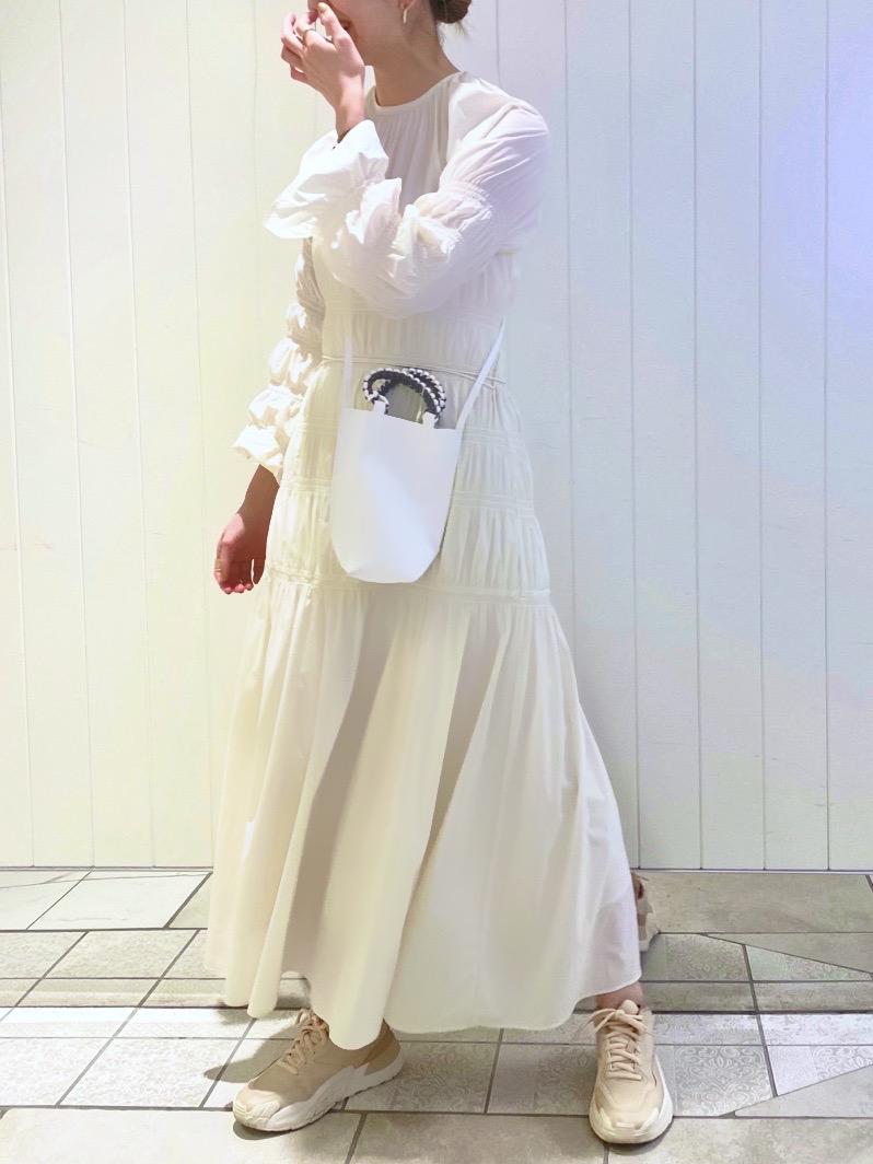【emmi atelier】ギャザーワンピース(IVR-0)