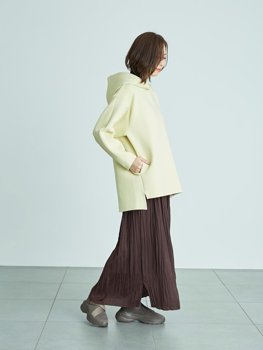【emmi atelier】フーディセットスカート(YEL-0)