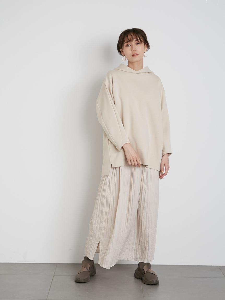 【emmi atelier】フーディセットスカート(BEG-0)