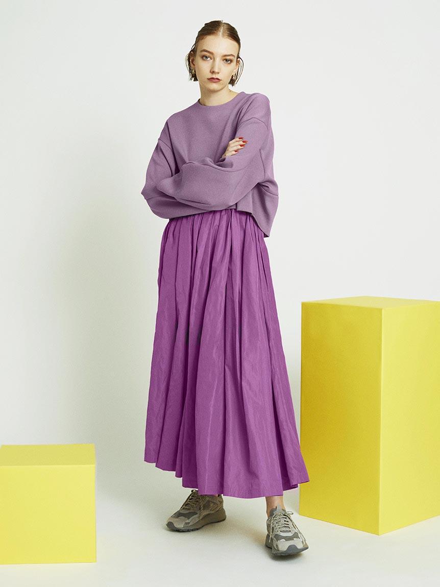 【emmi atelier】ダンボールプルオーバーSetスカート(PPL-0)