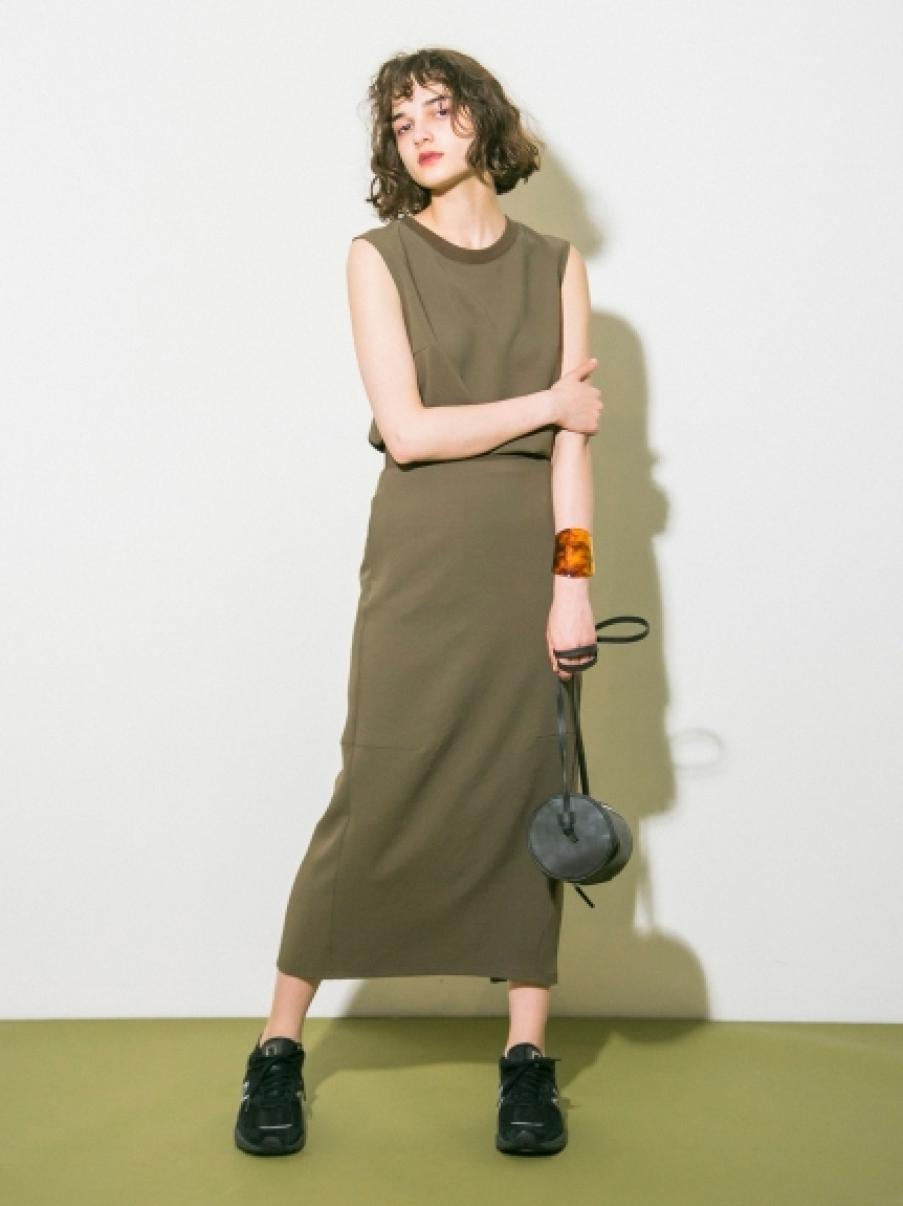 【emmi atelier】ジョーゼットスカート(KKI-0)