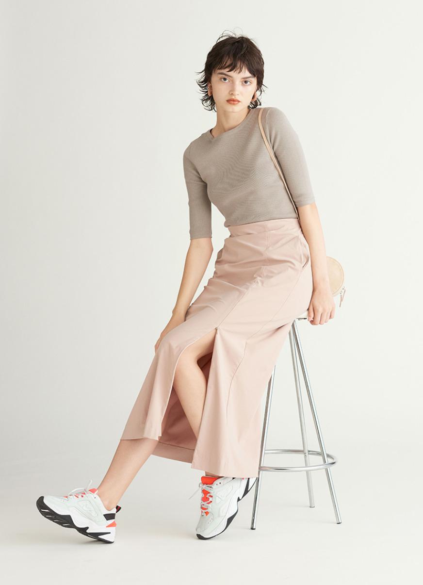【emmi atelier】ジャージースカート(PBEG-0)