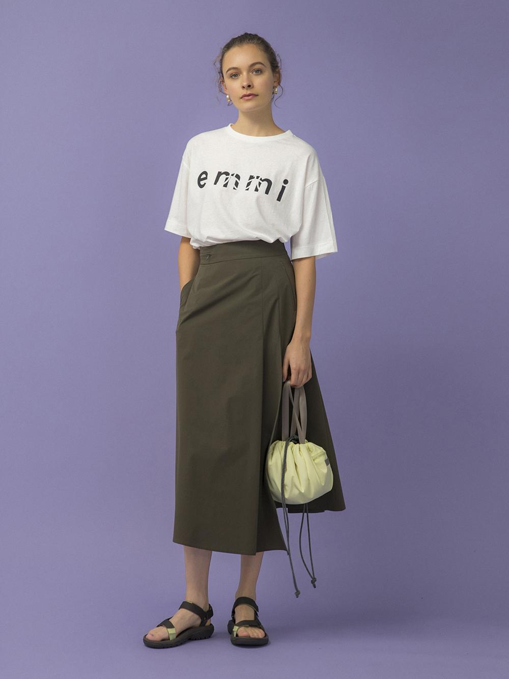 【emmi atelier】ストレッチスカート(KKI-0)