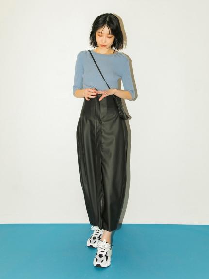 【emmi atelier】ハイウエストタイトスカート