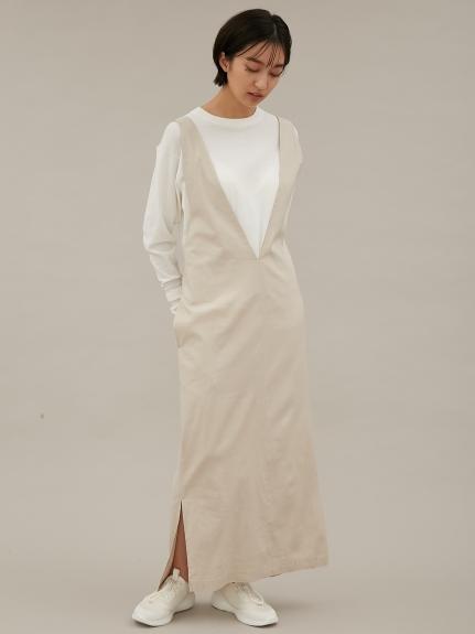 【emmi atelier】3WAYジャンパースカート(LBEG-0)