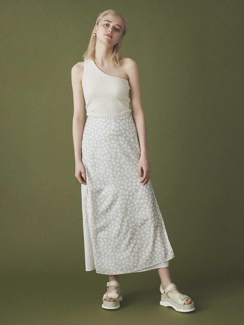 【emmi atelier】パネルスカート