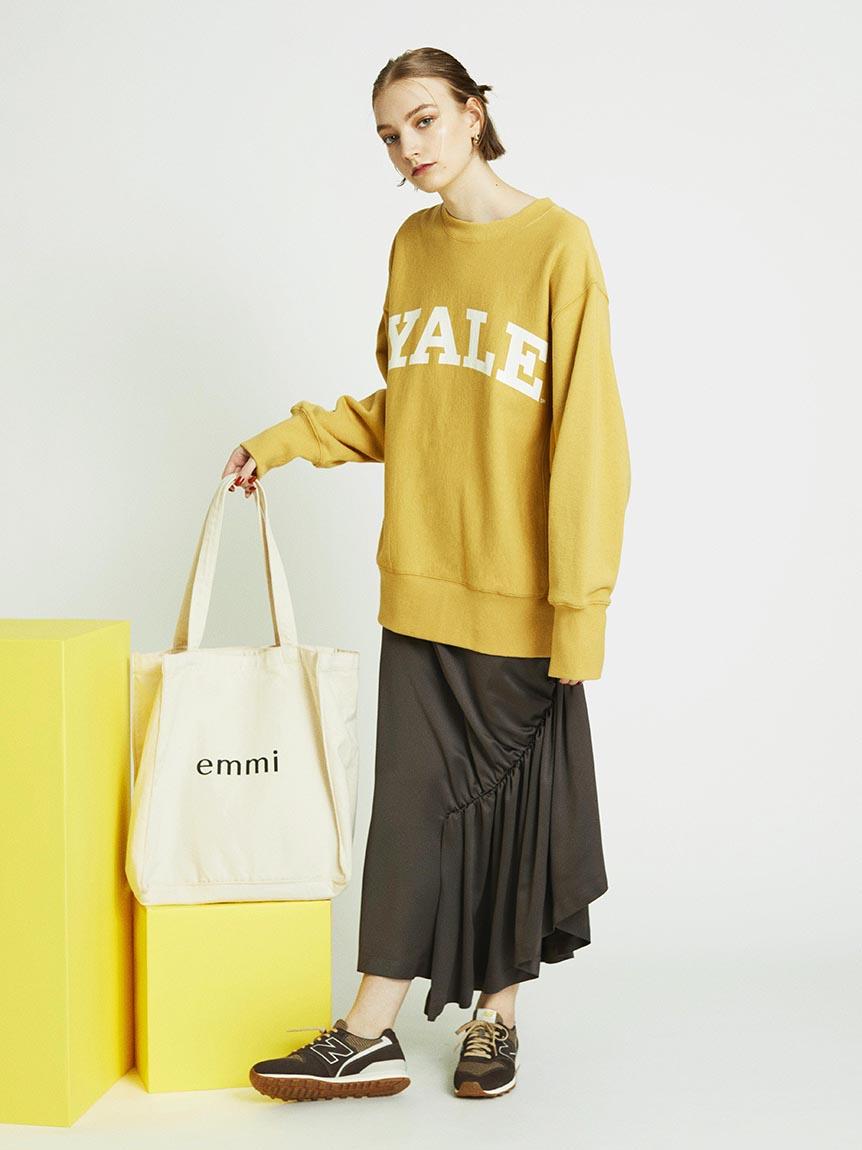 【emmi atelier】アシンメトリースカート(DBRW-0)