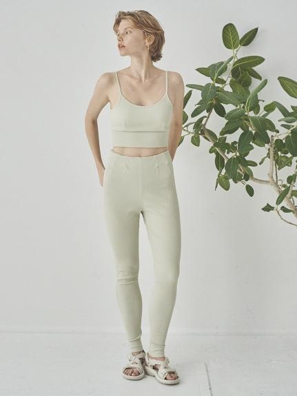 【emmi yoga】ハイウエストリブレギンス