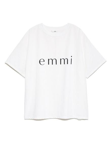 【emmi yoga】ビッグロゴTシャツ JAPAN MADE