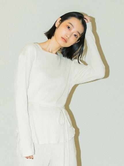 【emmi yoga】針抜きテレコトップス(GBEG-F)