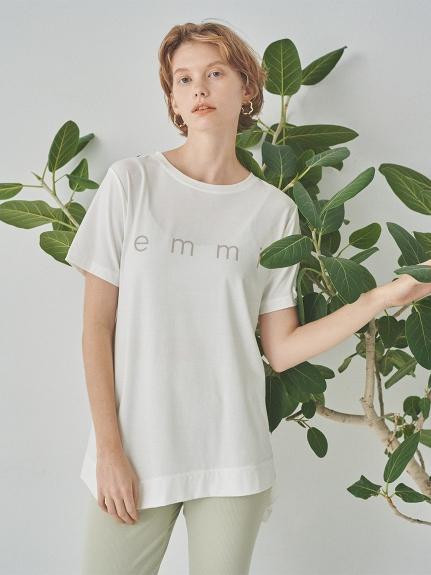 【emmi yoga】emmiロゴフレアTEE