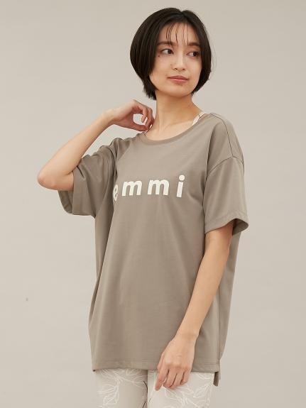 【emmi yoga】eco・emmiロゴT-shirt(KKI-F)