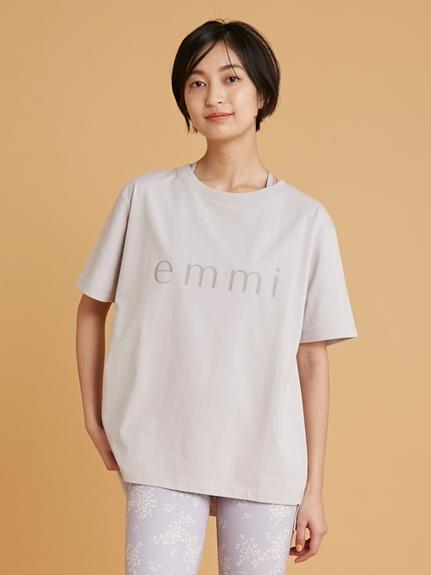 【emmi yoga】ONLINE限定 5ファンクションTee(LAV-F)