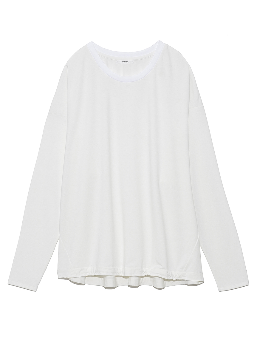 【emmi yoga】ロゴロングスリーブT-shirts(OWHT-F)
