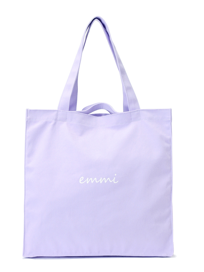 【emmi yoga】OFFICIAL ONLINE STORE限定 撥水ロゴトートバッグ(PPL-F)
