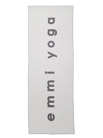 【emmi yoga】ヨガマットタオル(GRY-F)